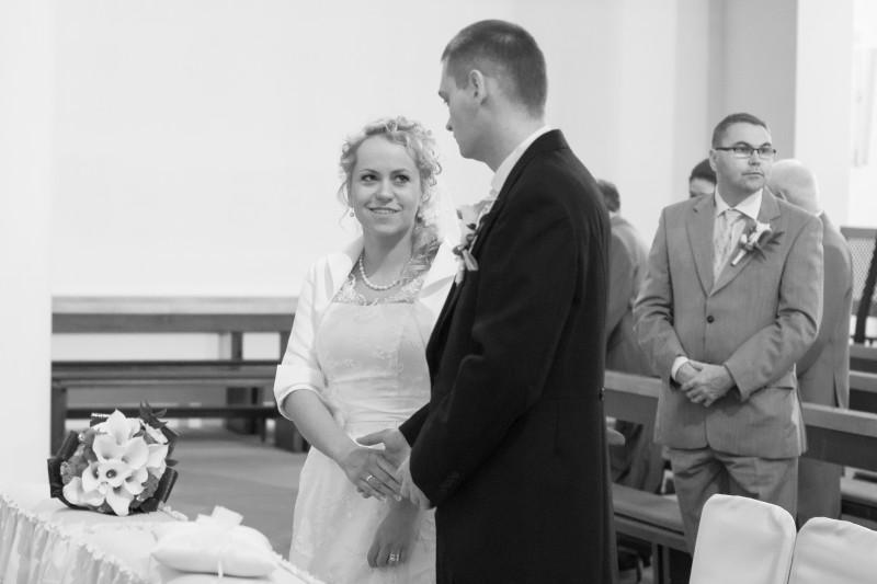 ślub, uroczystośc zaślubin w kościele p.w. Bożego ciała w Bydgoszczy 109