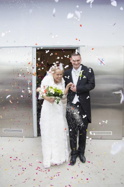 ślub, uroczystośc zaślubin w kościele p.w. Bożego ciała w Bydgoszczy 125