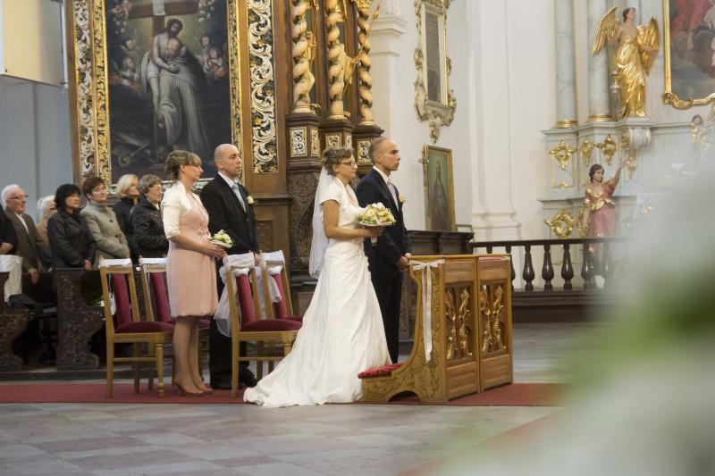 ceremonia ślubna, ślub w Bazylice Wniebowzięcia Najświętszej Maryi Panny w Koronowie054