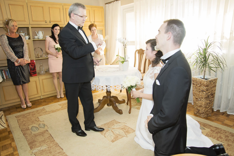 przygotowania i błogosławieństwo młodej pary 105