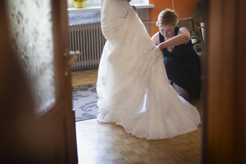 Przygotowania do ślubu Młodej Pary 070