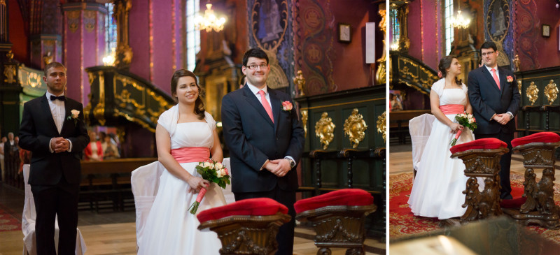 Ślub Magdy i Jarka w Katedrze w Bydgoszczy
